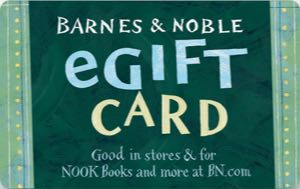 Earn free Barnes & Noble gift card