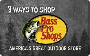 Earn free Bass Pro Shops gift card
