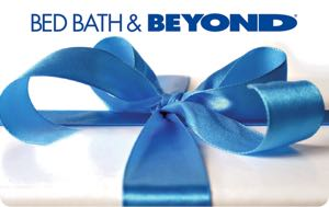 Earn free Bed, Bath & Beyond gift card