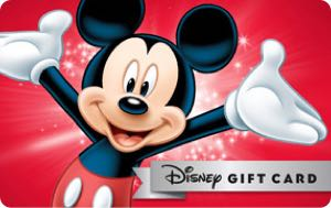 Earn free Disney gift card