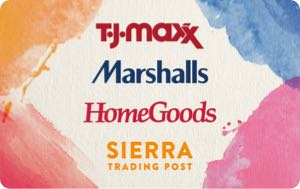 Earn free TJ Maxx, Marshalls and Homegoods gift card